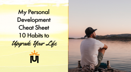 personal development cheat sheet