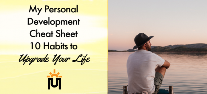 personal development cheat sheet