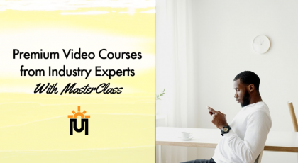premium video courses from masterclass
